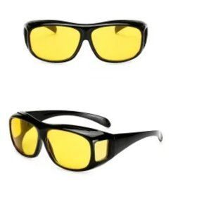 NIB HD VISION 400 UV WRAPAROUND SUN/NIGHT GLASSES